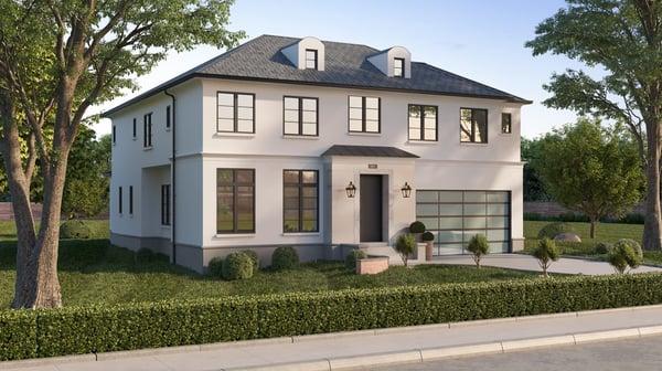 Glen Ellyn custom home