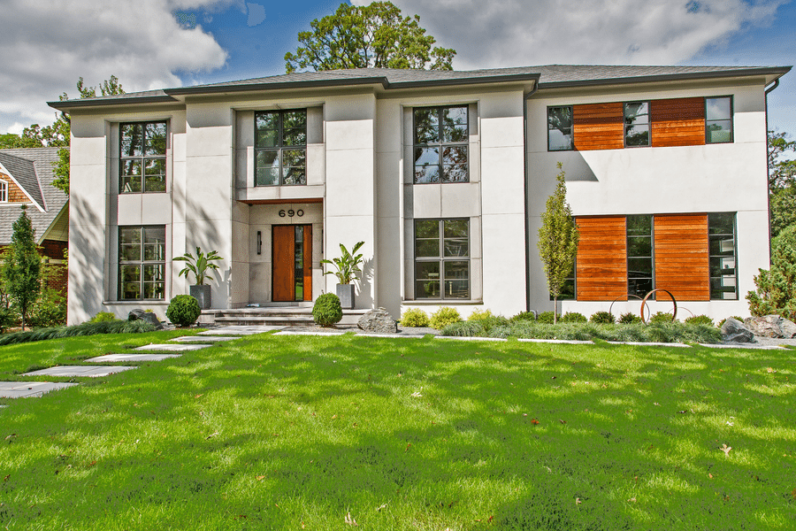 glen ellyn contemporary home