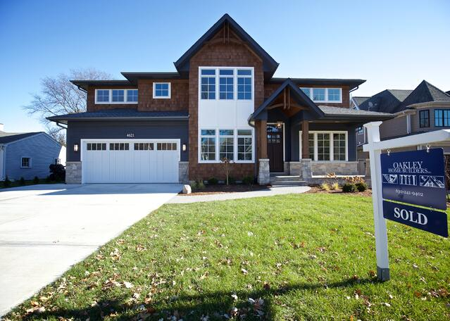 Downers Grove custom home